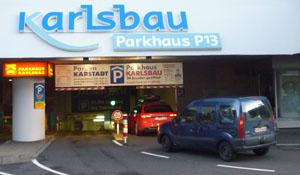 parkplatz einfahrt breite